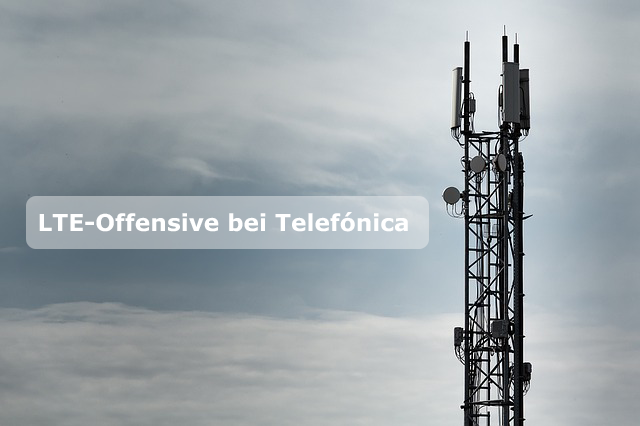 LTE-Sendemast