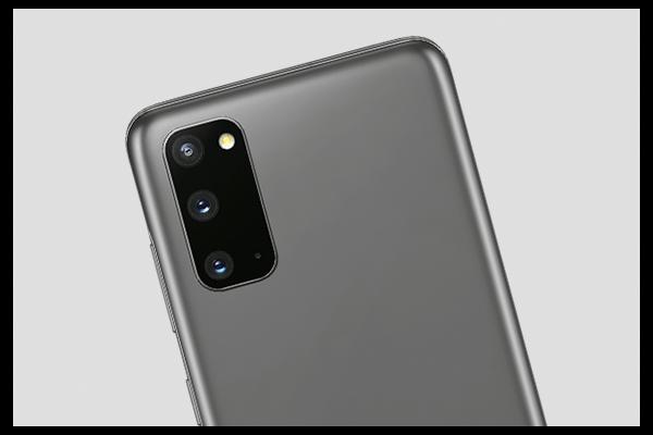 Das Kameramodul des Galaxy S20