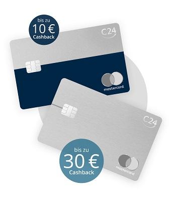 C24 Bank Cashback bis 30 Euro bei Pluskonto und Maxkonto