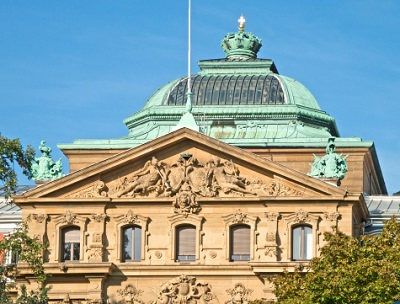 Gebäude des BGH in Karlsruhe