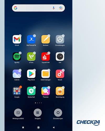 Versteckte Android-Funktionen - Widgets auf dem Homescreen platzieren