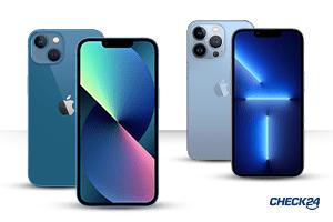 iPhone 13 Tarife für alle 4 Modelle erhältlich