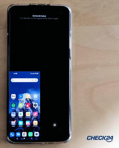 Versteckte Android-Funktionen - Einhandmodus