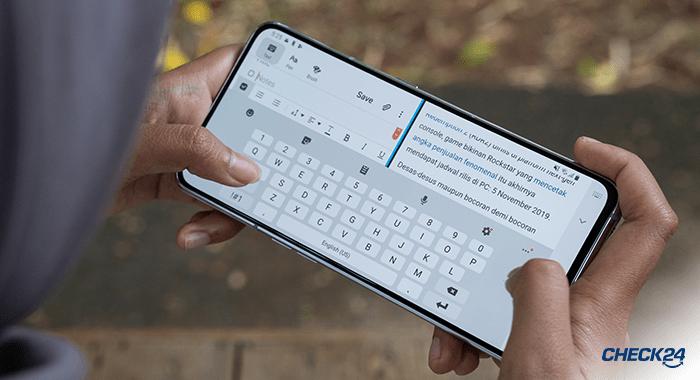 Verstecke Android Funktionen - Bildschirm teilen