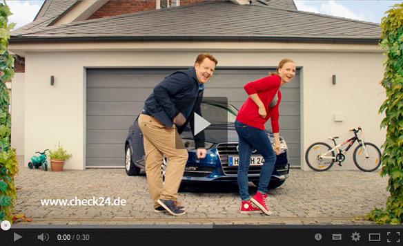 tv werbung aktueller tv spot check24. Black Bedroom Furniture Sets. Home Design Ideas