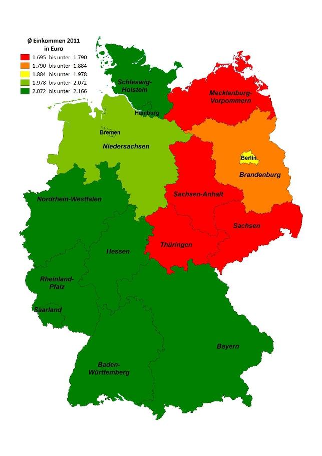Kreditatlas Bundesländer Im Kreditvergleich Check24