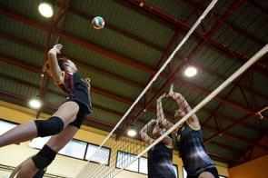 Volleyball-Spieler in Halle